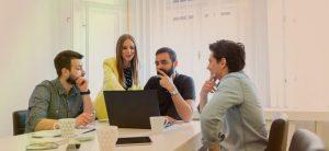 Startup Company partners