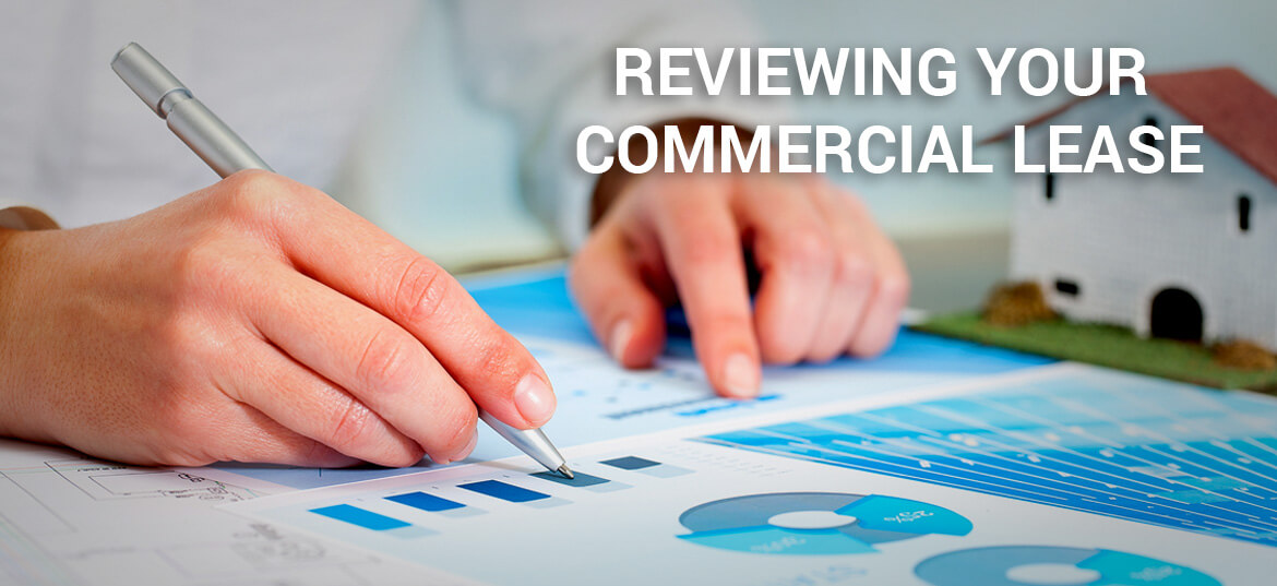 reviewing your commercial lease