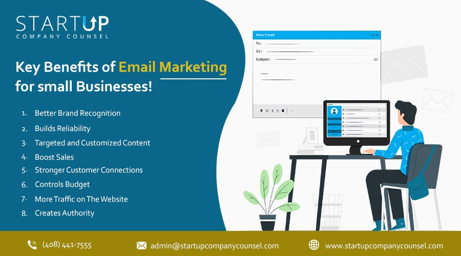 Key benefits of email marketing for small businesses
