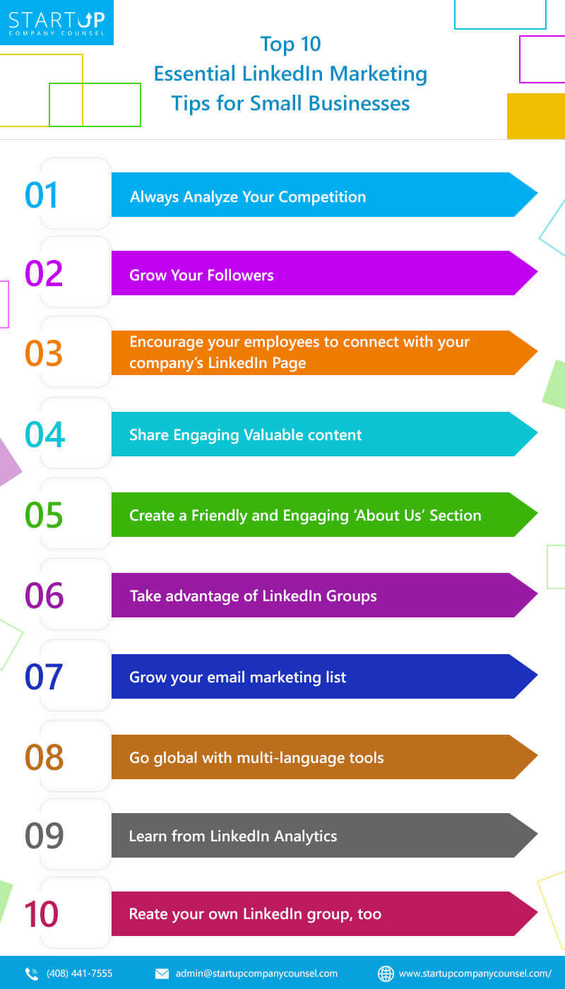 Essential LinkedIn Marketing Tips for Small Businesses